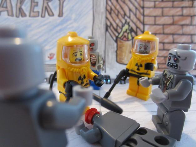 lego zombie apocolypse